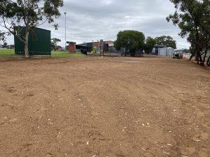 Blackwood FC Bare Dirt